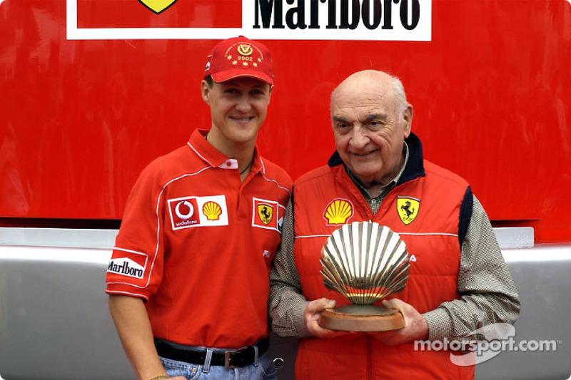 Shell presentation: Michael Schumacher and Froilan Gonzalez