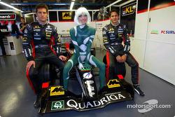 Mark Webber y Alex Yoong
