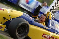 Race winner Mike Biangardi
