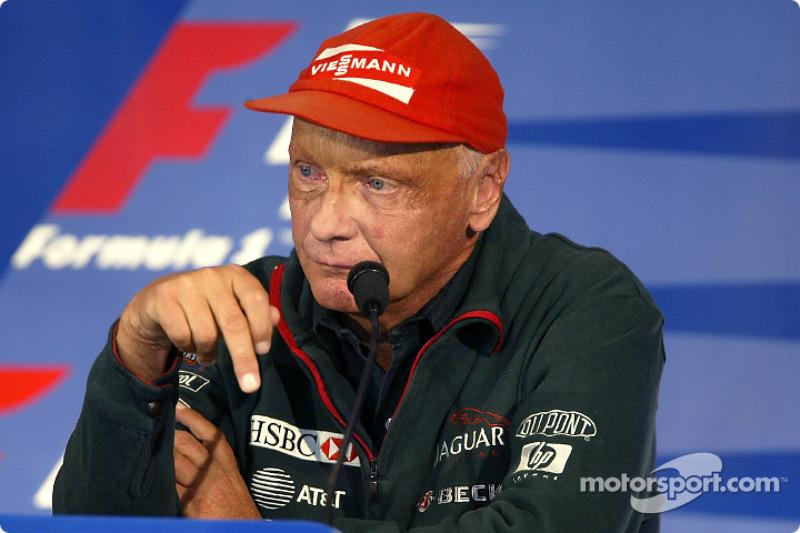 Conferencia de prensa FIA del jueves: Niki Lauda