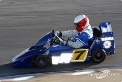 Eddie Lawson dispute la World Super Karts