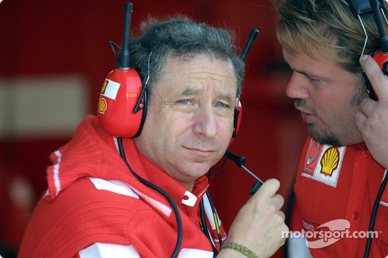 Jean Todt and Gino Rossato