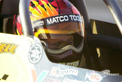 Darrell Russell at Joe Amato's home track