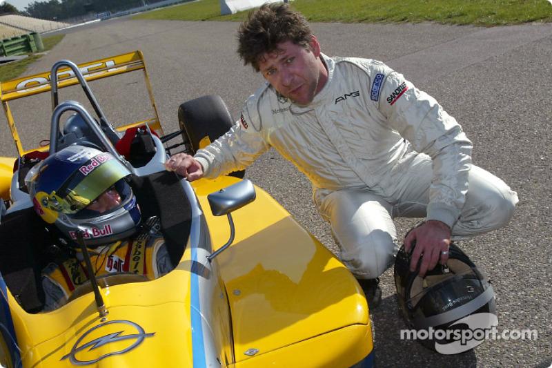 Día de prensa de DTM: El piloto alemán de F3, Frank Diefenbacher