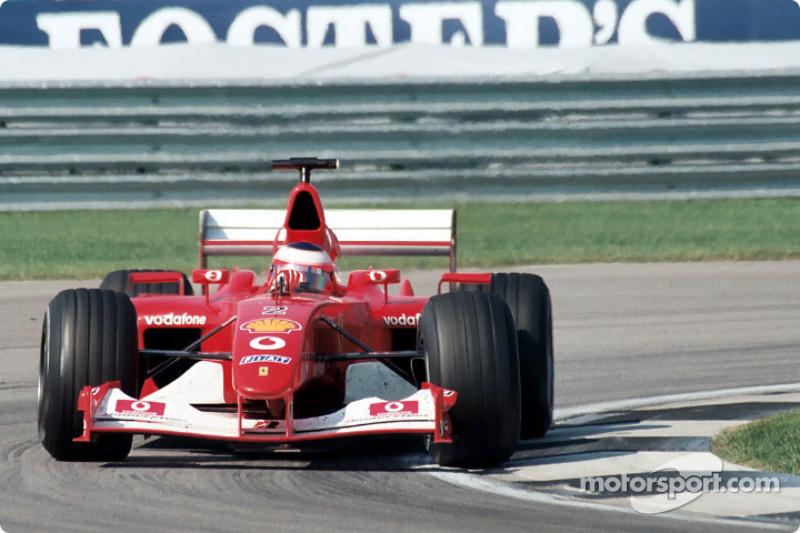 2002 - Рубенс Баррікелло, Ferrari