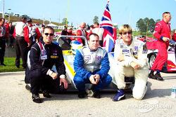 Andrew Davis, Earl Goddard and John Mefford