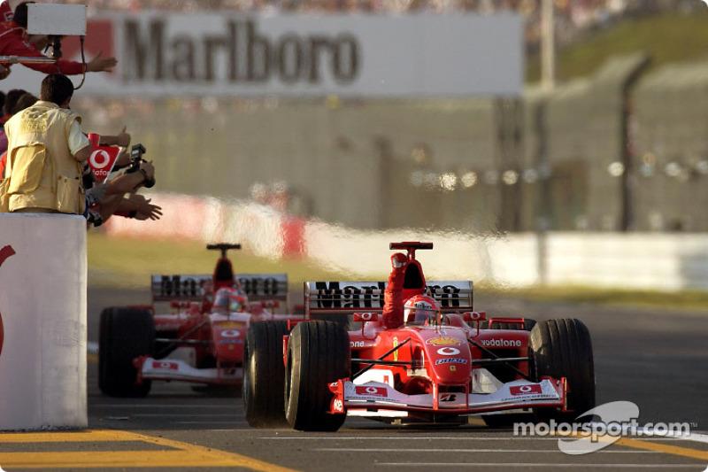 64勝目:2002年日本GP