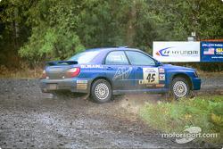 #45  Shane Mitchell, Paul Donnelly, New York, NY, '02 Subaru Impreza