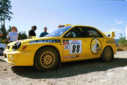 #88 Doug Havir, Scott Putnam, Golden Valley, MN Richfield, MN, '02 Subaru WRX