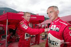 Francois Delecour y Alister McRae