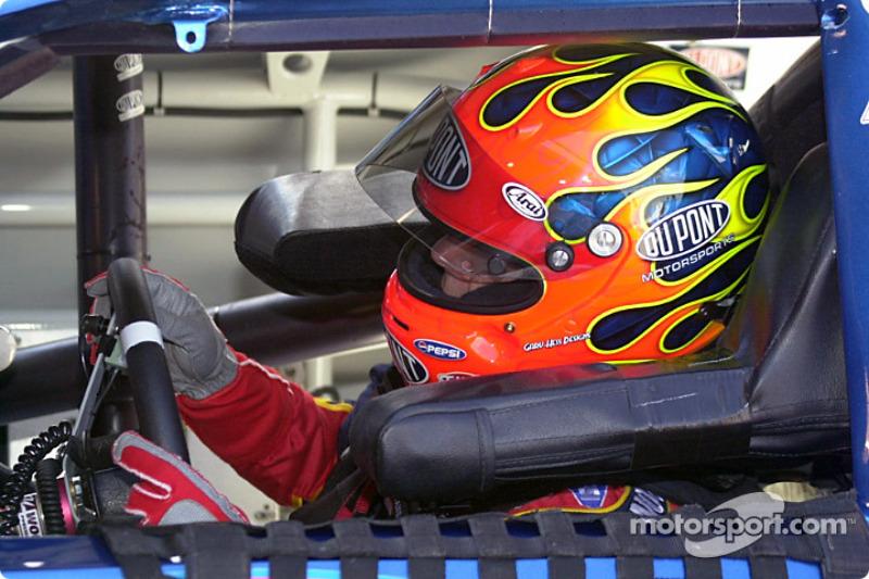Jeff Gordon detrás del volante