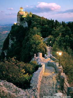 Postcard from the Republic of San Marino