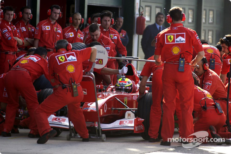 Pitstop for Luciano Burti