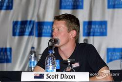 Press conference: Scott Dixon