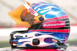 The Coca-Cola Racing Family promotion: Kurt Busch's helmet