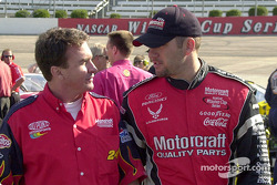 Robbie Loomis and Elliott Sadler