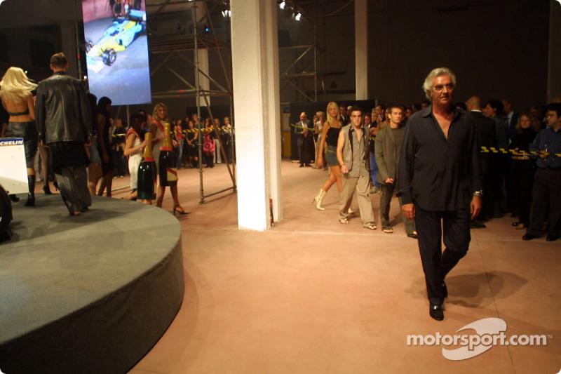 Spoon/Mild Seven RenaultF1 Media Party: Flavio Briatore