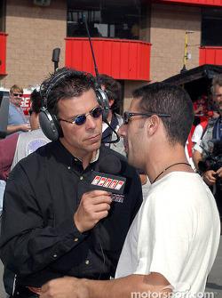 Scott Pruett interviews Tony Kanaan