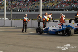 Race stopped: Michael Andretti
