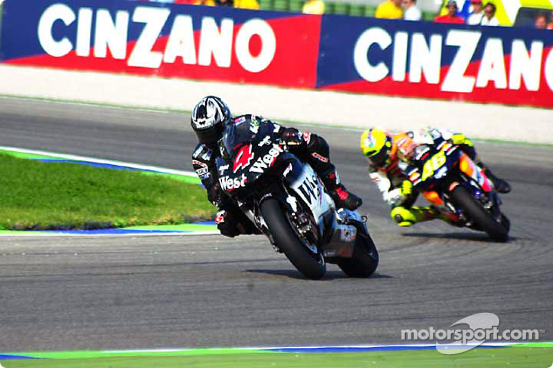 Barros leads Rossi