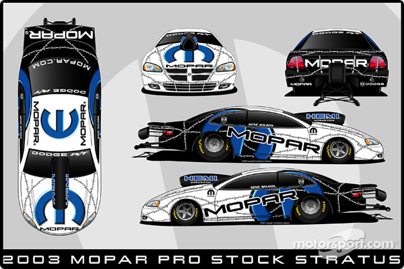 The 2003 Stratus Pro Stock
