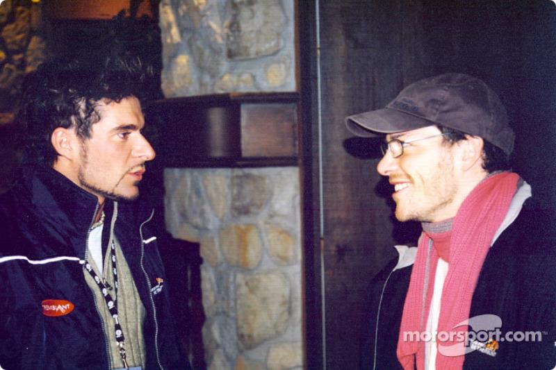 Alex Tagliani and Jacques Villeneuve