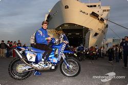 Boat crossing between Valencia and Tunis: Cyril Despres