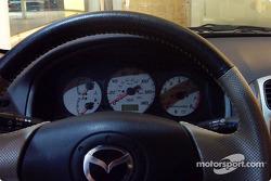 Mazdaspeed Protegé steering wheel