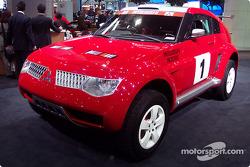 Dakar Mitsubishi Pujero Montero