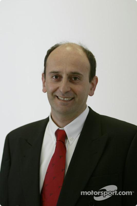 Luca Marmorini - General Manager Engine Development