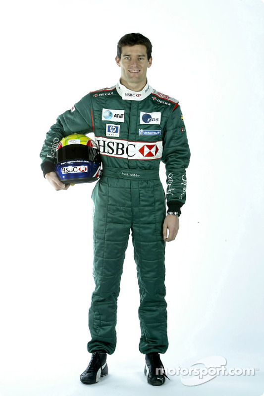 Mark Webber Pr Sentation De La Jaguar R4 Photos