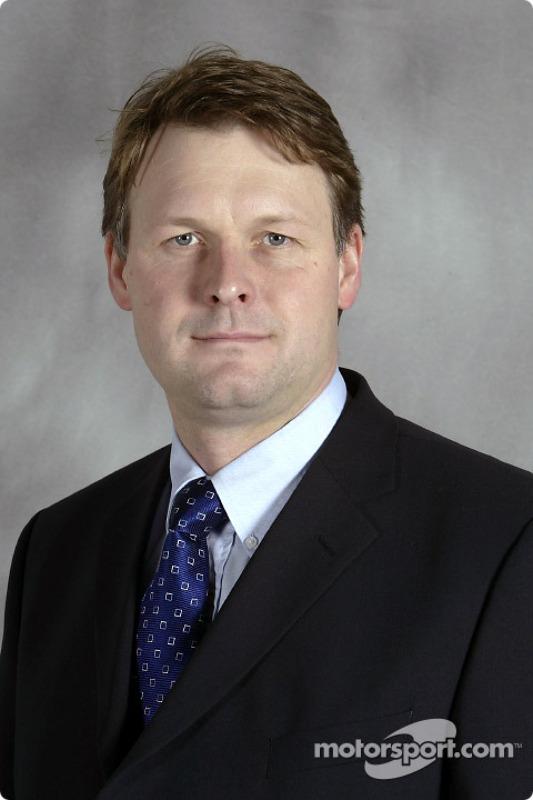 New Jaguar Racing managing director David Pitchforth