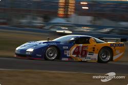 #46 Morgan Dollar Motorsports Corvette: Charles Morgan, Rob Morgan, Lance Norick, Jim Pace