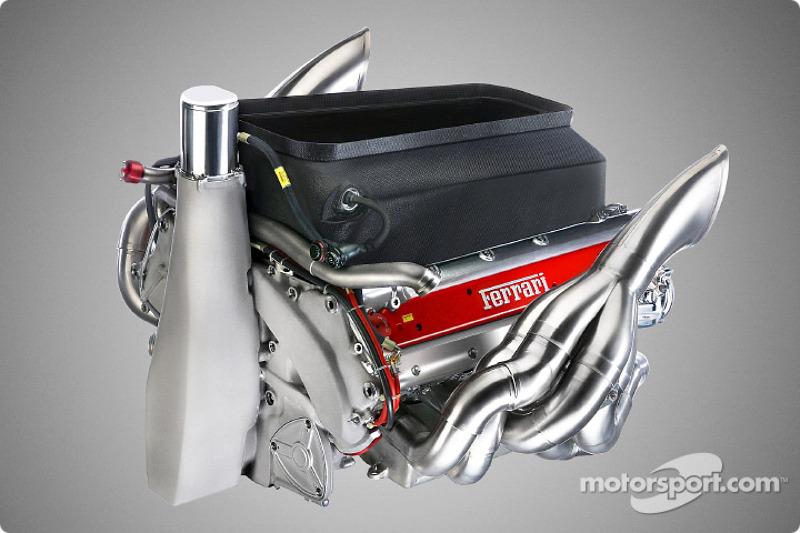 Motor del nuevo Ferrari F2003