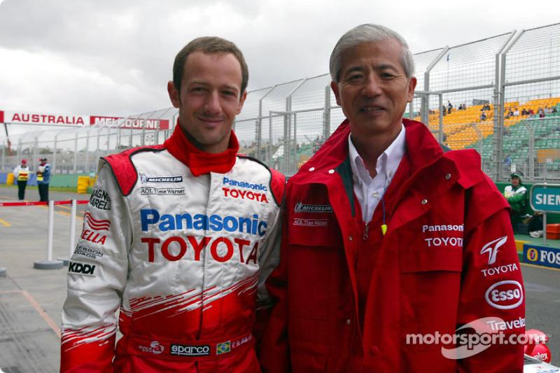 Cristiano da Matta with Dr Akihiko Saito