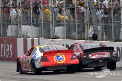 Ricky Craven edges Kurt Busch for the win by mere inches