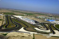 Blick auf den Adria Raceway