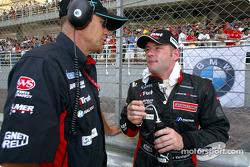 Jos Verstappen on the starting grid