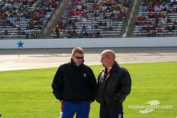 Jeff Burton and Todd Bodine