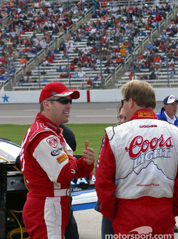 Jeremy Mayfield and Sterling Marlin