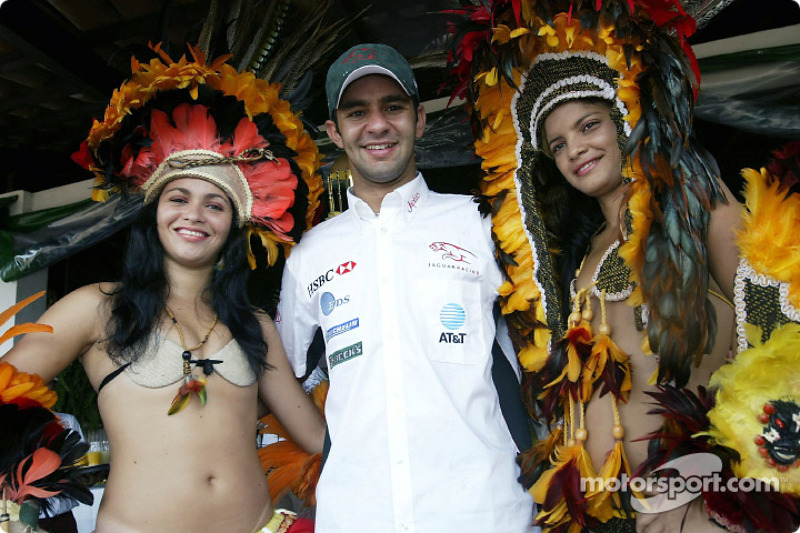 Antonio Pizzonia re-visits his home town in Manaus