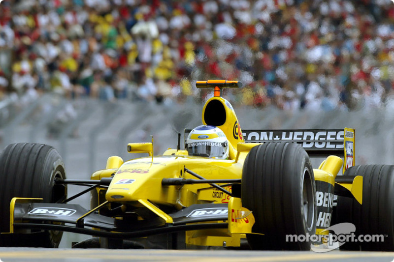 2003 : Giancarlo Fisichella, Jordan-Ford EJ13