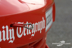 Telegraph sponsorship on the Vauxhall