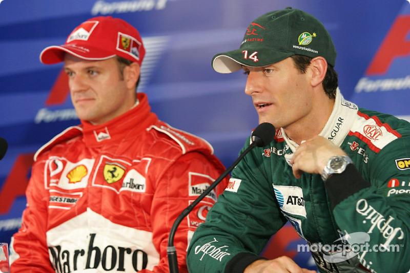 Conferencia de prensa: Rubens Barrichello y Mark Webber