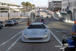 Trans-Am cars parade in Long Beach