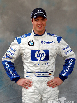 Photoshoot for Ralf Schumacher
