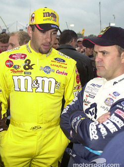 Elliott Sadler and Jason Keller