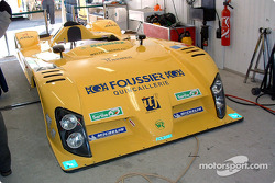 Bodywork of the #25 Gerard Welter WR LMP01-Peugeot