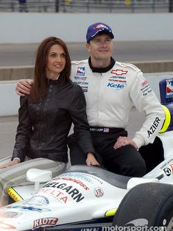 Buddy Lazier and wife Kara