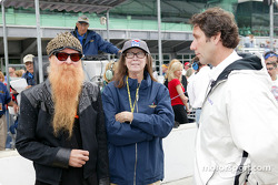 Billy Gibbons of ZZ Top and Mari Hulman George